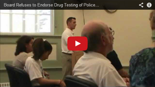 BoS refuse to endorse drug testing of police